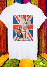 Danger Mouse Penfold British TV Series Cartoon Film Men Women Unisex T-shirt 735  Funny Tops Tee New free shipping