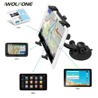 IWOLFONE Universal Car Windshield Mount Stand Holder Stand For Mobile Ipad 1 2 3 4 5