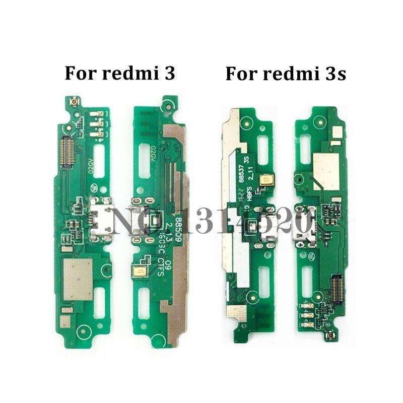 New USB Charging Port Flex For Xiaomi Redmi 3 / Redmi 3S Dock Connector Charging Port Flex Cable Replacement Part