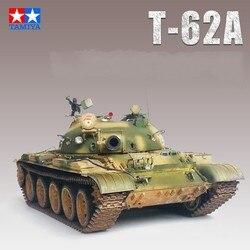 Réservoir à échelle 1:35, modèle russe T-62A, réservoirs, Kits de construction bricolage, Collection TAMIYA 35108