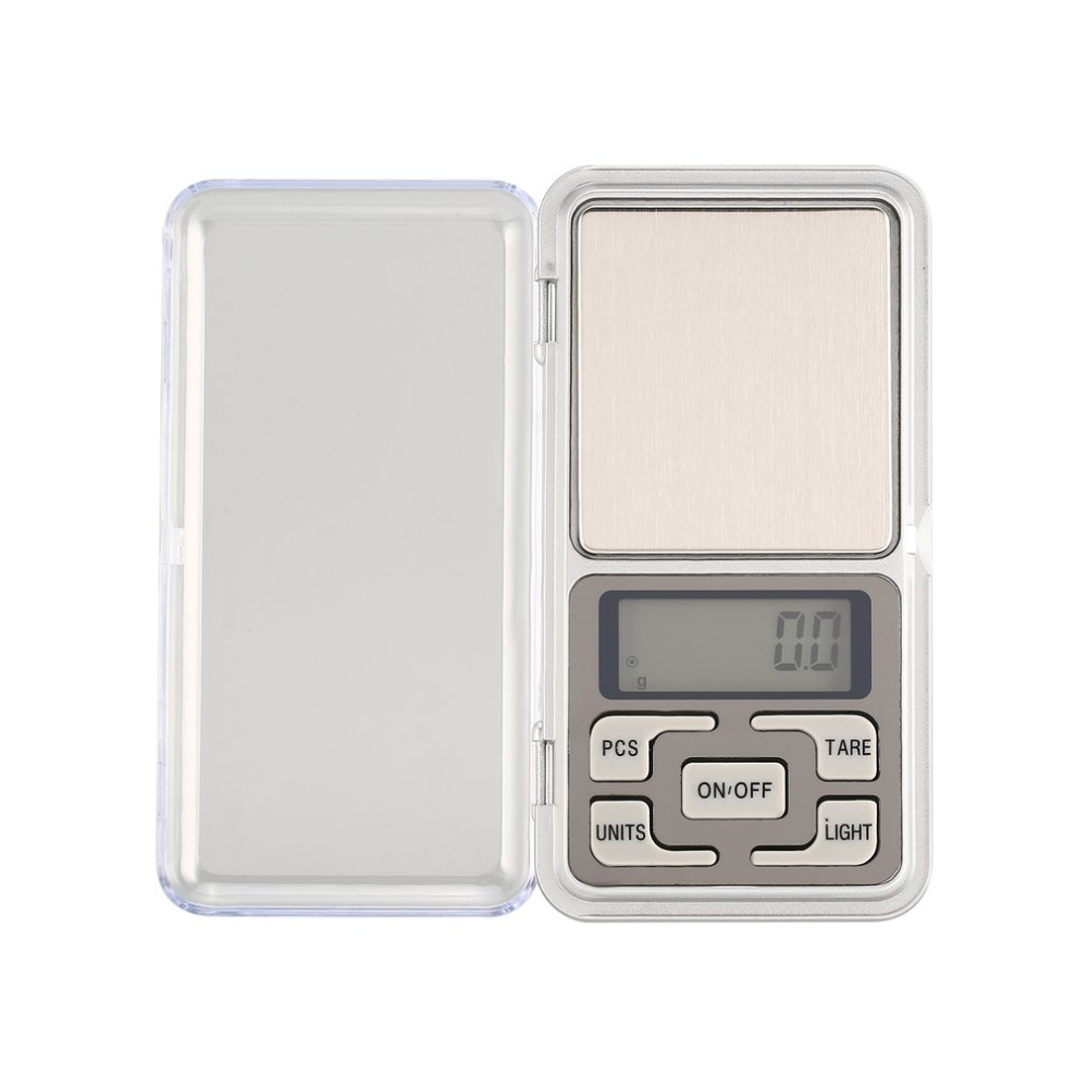Mini Digital Pocket Scale 1000g 0.1g Precision G/tl/oz/ct/gn Weight Measuring For Kitchen Jewellery Gold Tare Weighing