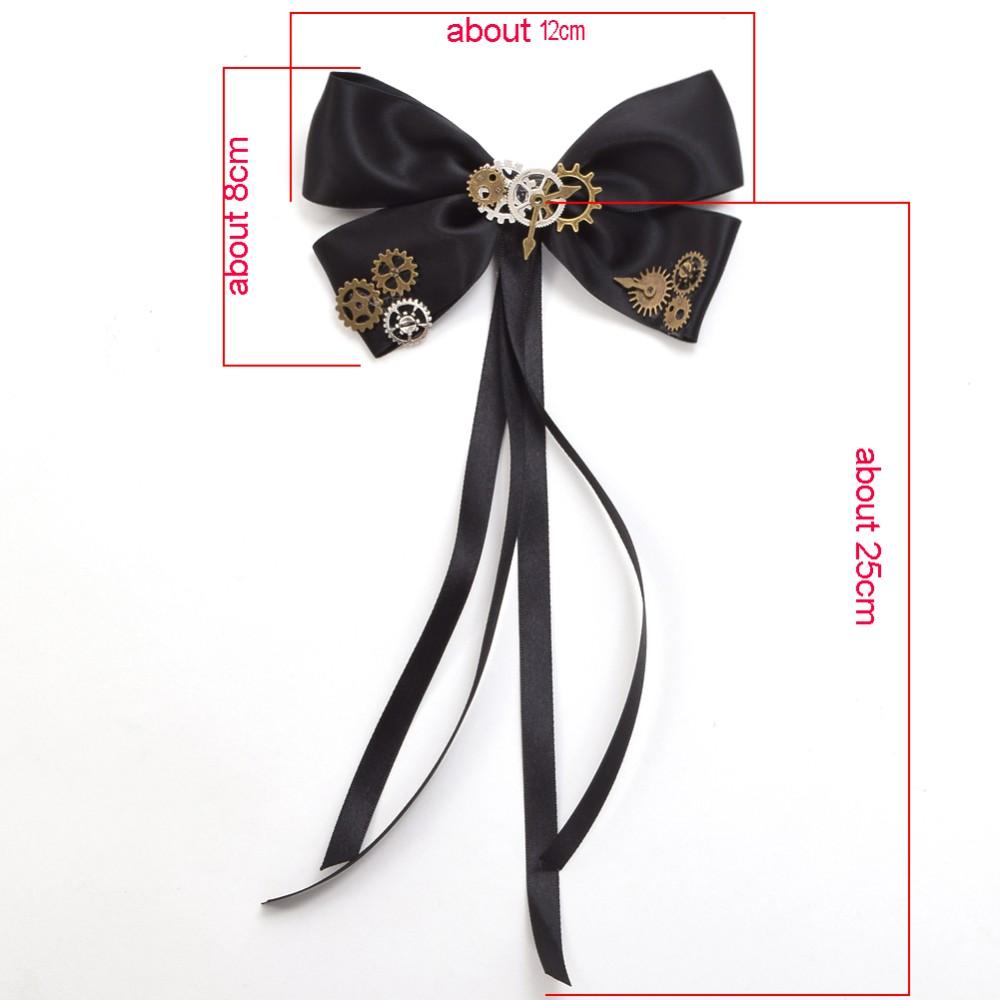 steampunk hair clip size