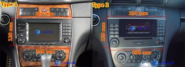 DVD de Navigation GPS pour Mercedes Benz C CLC CLC | Autoradio, Android, 8.8 pouces avec Navigation multimédia centrale, pour Mercedes Benz CLC CLC CLK classe W203 W209 W219