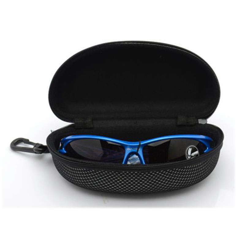 Eyewear Accessories New Portable Zipper Eye Glasses Clam Shell Sunglasses Hard Case Protector Box High Quality Goods