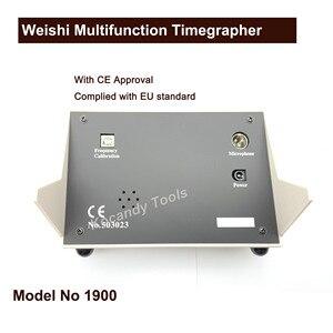 Image 4 - Weishi 1900 Многофункциональный Timegrapher, профессиональные часы ремень машина Многофункциональный Timegrapher для часовщики инструменты ремонт