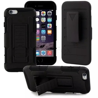 Rugged 3 In 1 Armor Case For Apple IPHONE 5 5S SE Case Full Protective Stand