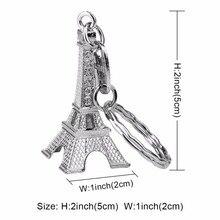 20pcs Wedding Favors / Souvenirs: Eiffel Tower Keychain