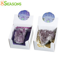 8SEASONS Created Gem Stone Birthstone February Irregular Purple No Hole About 5.6cm x 4.8cm, 1 Box(Approx 1Piece)(China)