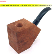 RU- MUXIANG Specialized Briar Wood Block with Acrylic Saddle