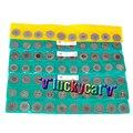 21pcs Dental Diamond Polishing Wheel Saw Disc Rotary Tool 7 types, 3pcs/type