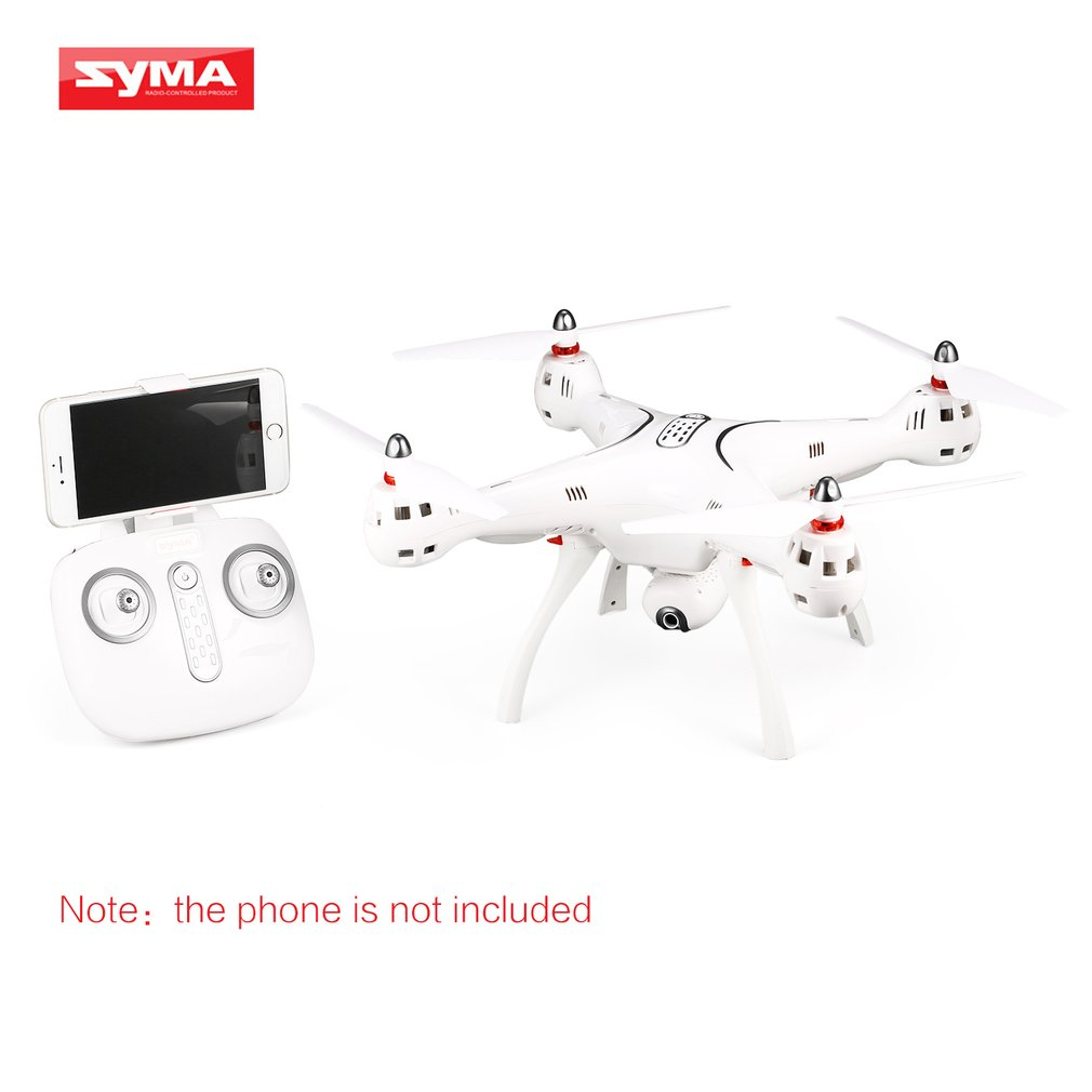 SYMA X8PRO GPS DRONE WIFI FPV With 720P HD Adjustable Camera Drone 6Axis Altitude Hold x8 pro FPV Selfie Drone Helicopter Model image