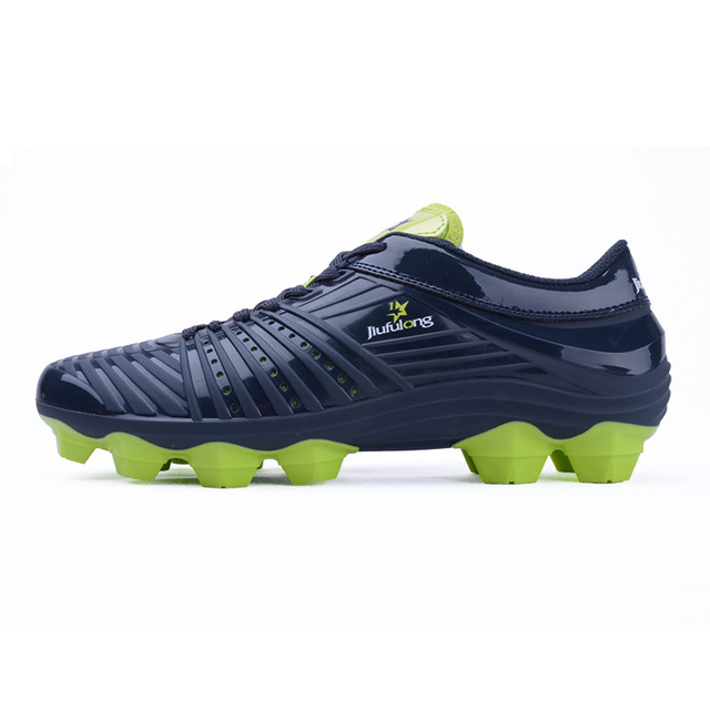 80940cdd89a Mens Soccer Cleats Outdoor Sport Football Shoes Long Spikes FG Male Soccer  Shoes Boys Athletic Sneakers Kids Trainers for Man