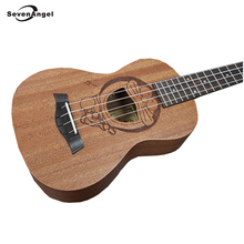 SevenAngel Brand Hot selling Cartoon Pattern Ukulele 4 strings Hawaiian Guitar AQUILA strings Doraemon Ukelele Best Music Gift