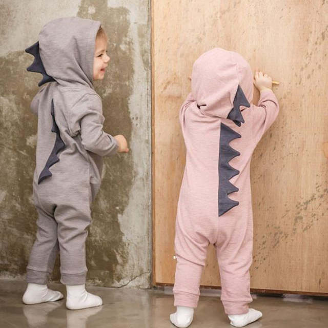 1a6a10f45 Online Shop Infant Baby Boy Girl Clothes Lovely Cartoon Dinosaur ...