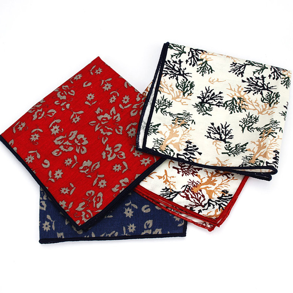 Men's Formal Floral Hanky Handkerchief Wedding Party Business Pocket Square YFTIE0213