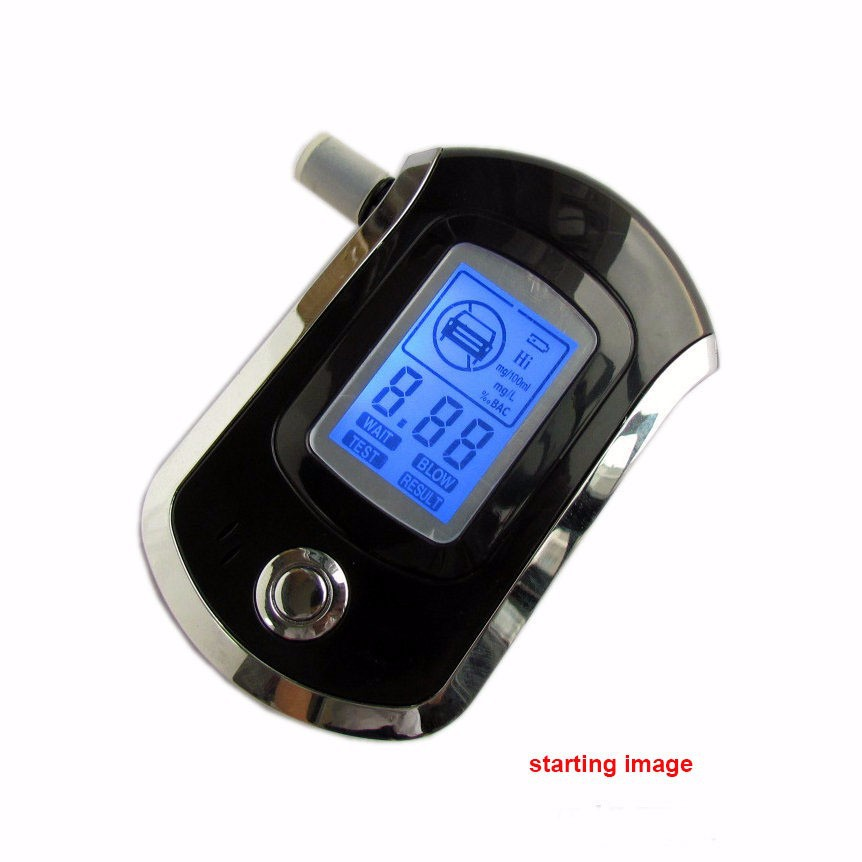 Humor Professional Police Digital Breath Alcohol Tester Led Alcotester Breathalyzer Durable In Use Back To Search Resultshome