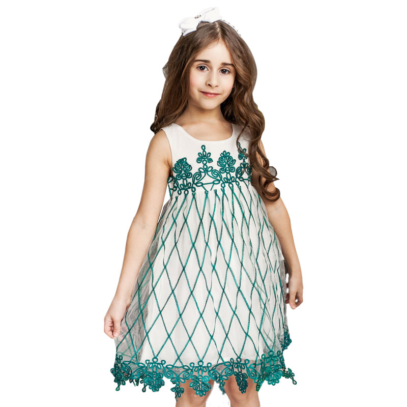 ChildDkivy 3 10 Years Girls Lace Dress For Kids Clothes