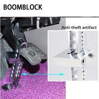 BOOMBLOCK 1set Car Anti Theft Lock Brake Steel For Bmw E46 E39 Audi A3 A6 C5 A4 B6 Mercedes W203 W211 Mini Cooper