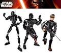 ZXS Figuras star war Rogue Uno K-2SO Muerte Trooper Sargento Jyn Erso Figura bloques de construcción de juguetes de navidad regalos de año nuevo