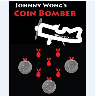 Coin Bomber Magic (Super Morgan Coin Version) Magic Tricks Coin Appearing/Disappearing Magie Mentalism,Close Up,Illusion,Comedy appearing fish for empty tank fishtastic magic tricks illusions card tricks novelties party jokes
