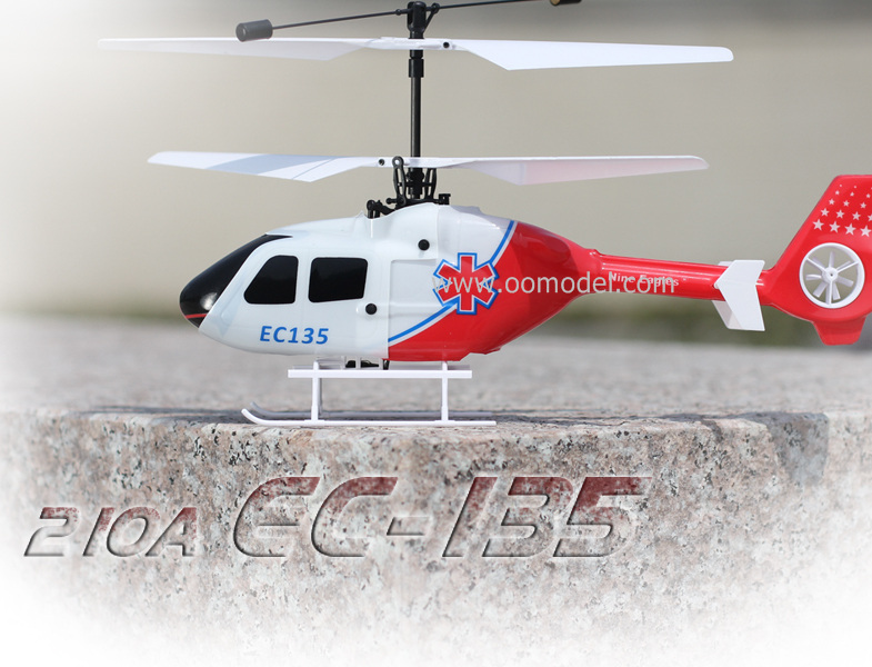 Nine Eagles EC135 4CH RC Helicotper RTF 2.4GHz Blue/Red Free Express Shipping riccs tb 20 rtf 4ch 2 4g red