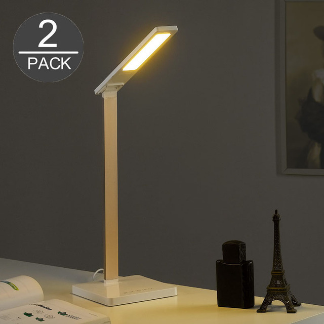 Simple metal led desk lamp reading table lamp eye protection desk lamp desk light for office