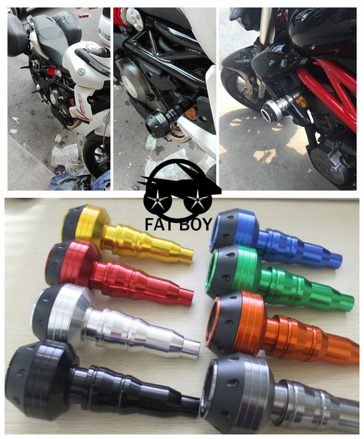 CNC del motor de la motocicleta marco almohadillas de protección contra caídas KTM RC8/R 690 Duque RC8/R 990 Superduke DUKE125/250/390 RC390