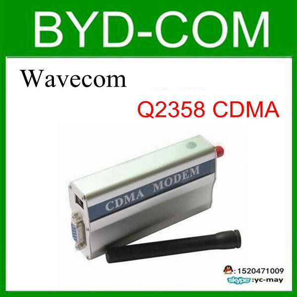 wavecom Q2358 CDMA modem wholesale factory SMS voice internet online