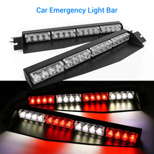 2PCS 45cm X 11cm X 4cm Strobe Light 12V Vehicle Car Front Emergency Warning Light Flash LED Police Lamp Daytime Running lights lit 45 x 11cm car decorative voice sensor sound controlled 5 color led light sticker multicolored