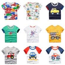 INPEPNOW/ г. Детская футболка для мальчиков футболки с короткими рукавами для маленьких девочек с рисунком топы, белая детская футболка для мальчиков, одежда 278