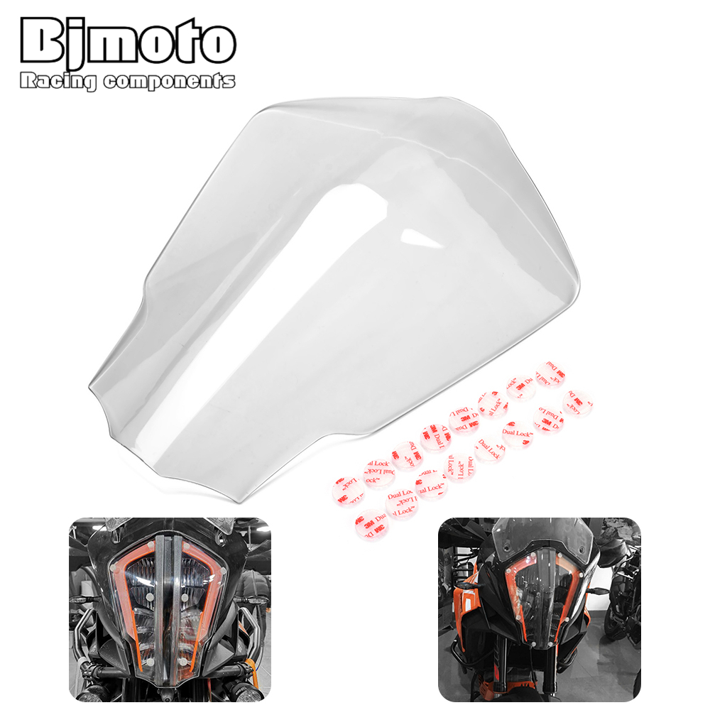 Motorcycle Super Adventure R 1290 Headlight lamp Protector Cover Screen Lens Case For KTM 1290 SUPER
