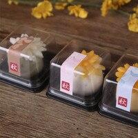 2016 Direct Selling Milieuvriendelijke Zeep Mold Hot Koop 50 stks Pvc Clear Cake Container/Cupcake Muffin Doos Plastic Bruiloft douche