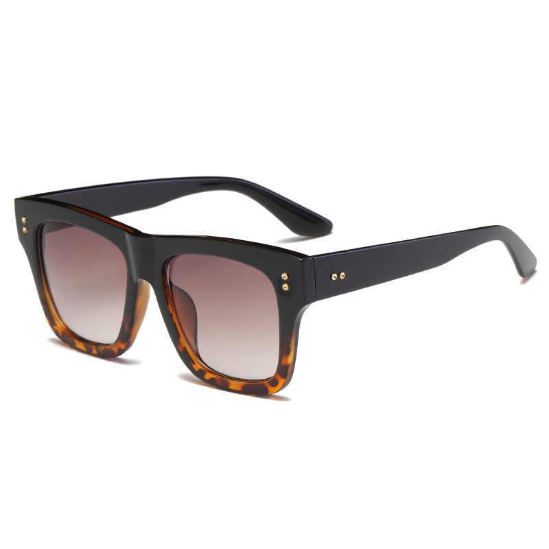 6f7a370e56d Luxury Brand Designer Hiphop Sunglasses women 2018 UV400 Men Oversized  Square Full Frame Sun Glasses Elegant