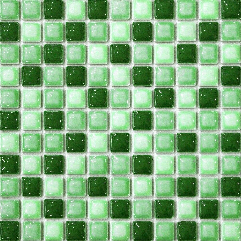 Green tiles kitchen texture - Green Convex Ceramic Mosaic Tile Kitchen Backsplash Tile Bathroom Wall Paper Shower Hallway Fireplace Border Tile