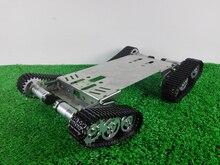 TS800 шасси танка гусеничная машина из нержавеющей стали 4WD цистерны препятствие преодоление дизассемблировать шасси комплекты