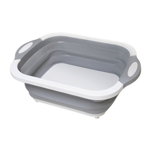 Kitchen Cutting Boards Multifunctional Foldable Board Silicone Washable Washing Basket Accesories