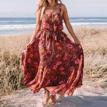 BOHO INSPIRED floral Print rayon elastic waist skirts womens 2018 bohemian