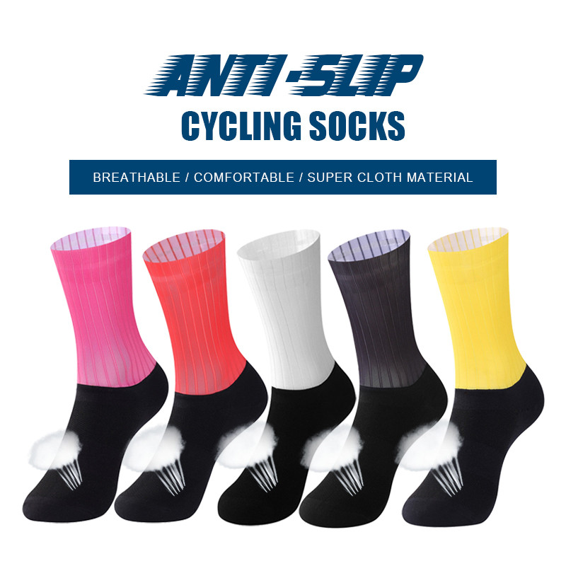 2018 Sport Socks Men's Coolmax Cycling Riding Bicycle Socks Breathbale Basketball Socks cycling socks