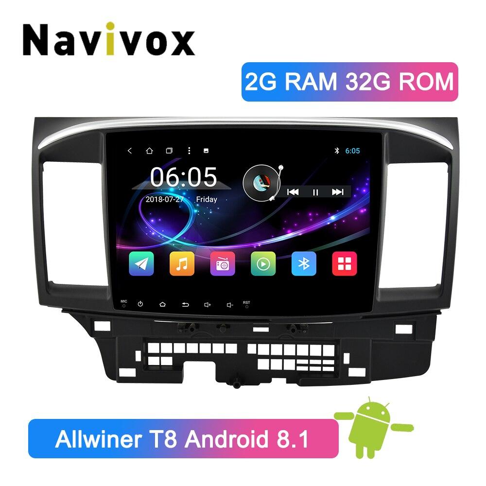 Navivox 10.1 Android 8.1 Car Radio 2 Din Lancer 10 GPS Car Multimedia Player DVD For Mitsubishi Lancer 2007-2016 Lancer X 9 10Navivox 10.1 Android 8.1 Car Radio 2 Din Lancer 10 GPS Car Multimedia Player DVD For Mitsubishi Lancer 2007-2016 Lancer X 9 10
