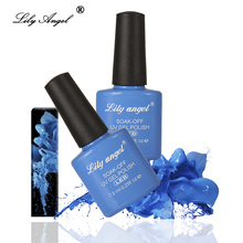 LILY ANGEL 7.3Ml Nail Art Design Manicure  110 Color Soak Off Enamel 2018 New Gel Polish LED UV Lacquer 39-76
