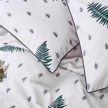 Dunkelgrüne Bettwäsche   2019 Dark Grünen Baum Blätter Bettdecke Bettbezug-set Baumwolle Bettwäsche Set Bedlinens Twin Königin König Flache Blatt Ausgestattet Blatt