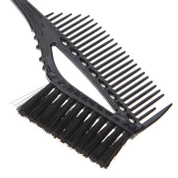 Pro Black Plastic Hair Color Highlighting Dye Tint Brush