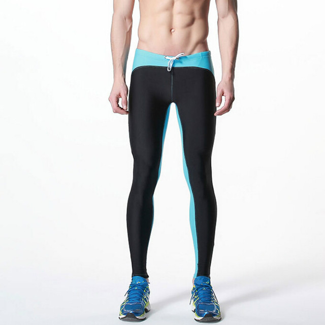 7e8562f8d69 Desmiit Swimming Pants for Men Long Swim Trunks Sexy Swimwear Mens Tights  Low Waist Swimsuit Summer Beach Surf Swim Wear Sunga