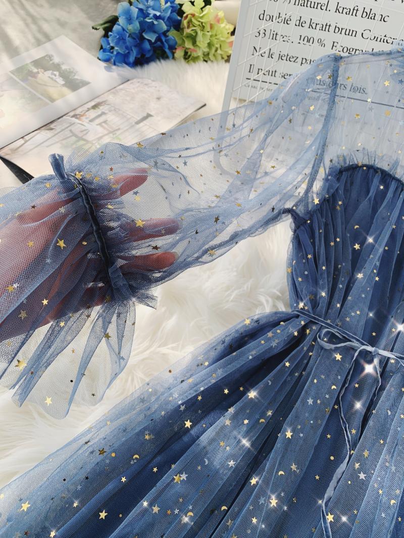 Gauze Two Piece Midi Dress 10