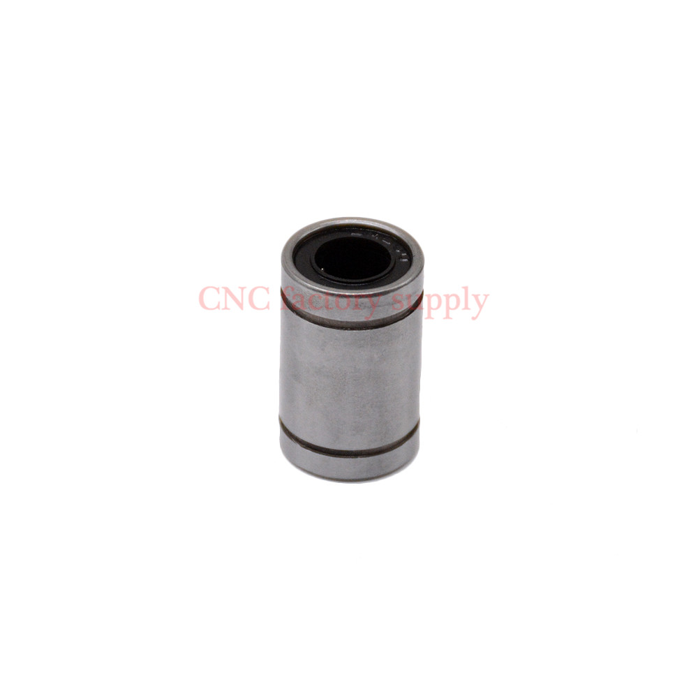 где купить Free shipping 100pcs LM8UU 8mm linear bushing linear bearings CNC 3D printer parts по лучшей цене