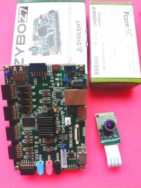 Spot 471 021 Embedded Vision Bundle FPGA Zybo z7 20 Digilent Development  Board купить в магазине MBM-Chip Store на AliExpress