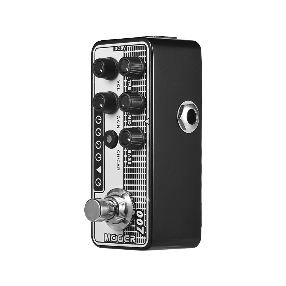 buy mooer micro preamp series 007 guitar pedal boutique vintage tone perfection. Black Bedroom Furniture Sets. Home Design Ideas