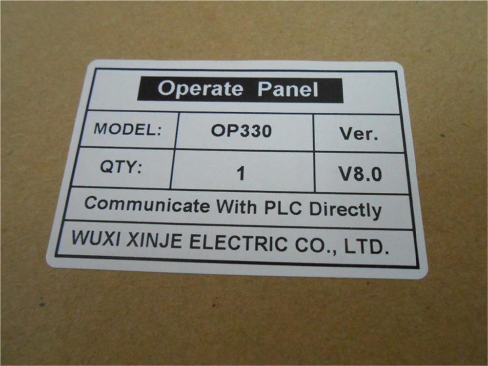 ФОТО OP330 XINJE Touchwin Operate Panel STN LCD single color 26 keys new in box