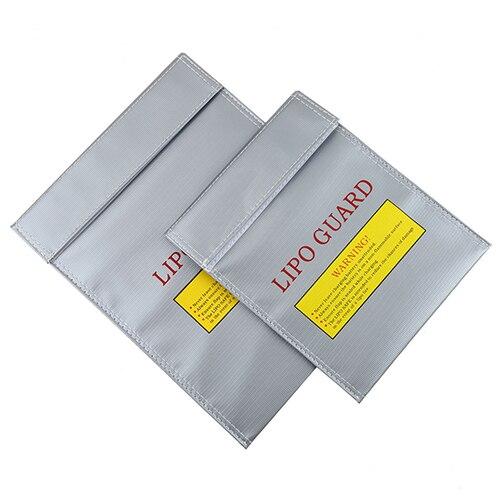 RC LiPo Li-Po Battery Fireproof Safety Guard Safe Storage Bag Charge Charging Sack