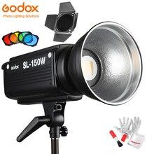 Godox SL 150W Led فيديو ضوء 5600K 150W CRI 93 + بوينس جبل w/عن بعد وسيطروا BD 04 باب الحظيرة العسل الشبكة 4 اللون مرشحات
